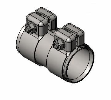 Raccord de tuyau d'echappement WALKER 80713 (X1)