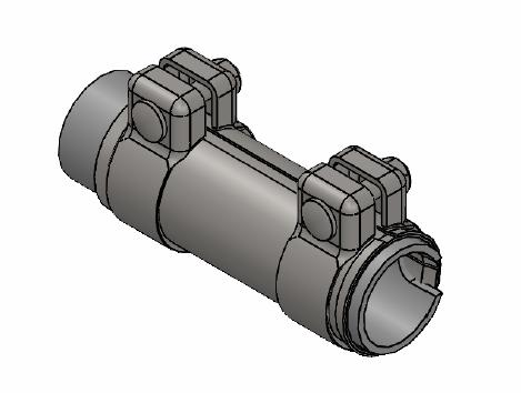 Raccord de tuyau d'echappement WALKER 80715 (X1)