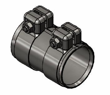 Raccord de tuyau d'echappement WALKER 80716 (X1)