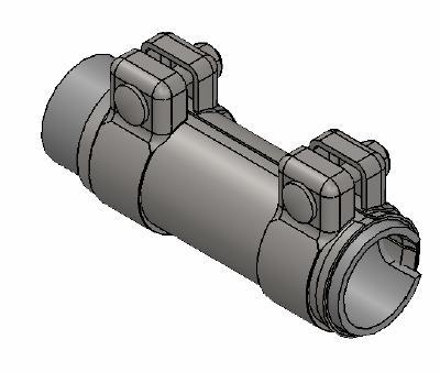 Raccord de tuyau d'echappement WALKER 80724 (X1)