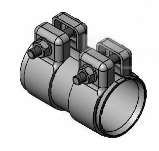 Raccord de tuyau d'echappement WALKER 82104 (X1)