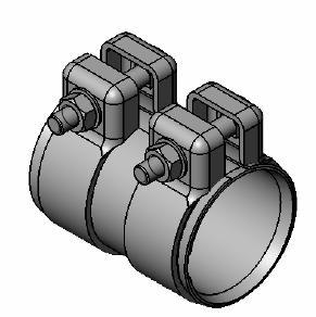 Raccord de tuyau d'echappement WALKER 82130 (X1)