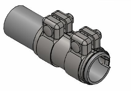Raccord de tuyau d'echappement WALKER 82166 (X1)