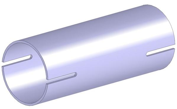 Raccord de tuyau d'echappement WALKER 82593 (X1)