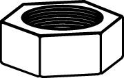 Boulons d'echappement WALKER 83301 (X1)