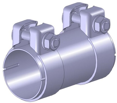 Raccord de tuyau d'echappement WALKER 86130 (X1)