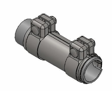 Raccord de tuyau d'echappement WALKER 86141 (X1)