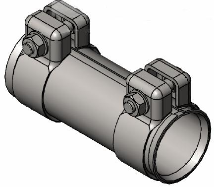 Raccord de tuyau d'echappement WALKER 86142 (X1)