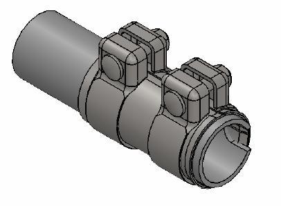 Raccord de tuyau d'echappement WALKER 86144 (X1)