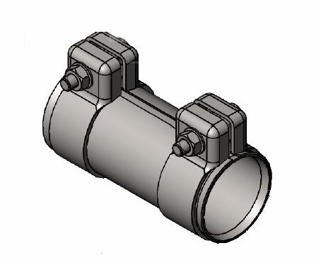 Raccord de tuyau d'echappement WALKER 86150 (X1)