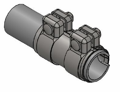 Raccord de tuyau d'echappement WALKER 86152 (X1)