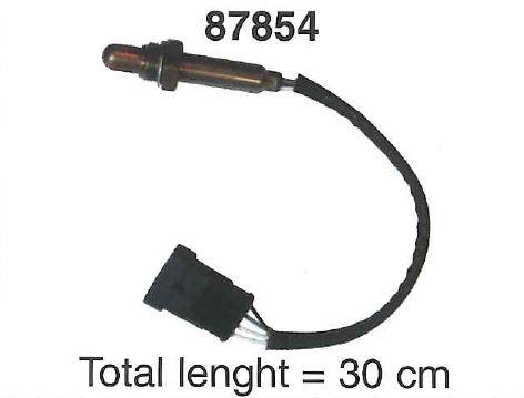 Sonde lambda WALKER 87854 (X1)