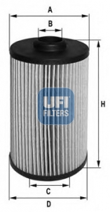 Filtre a huile UFI 25.038.00 (X1)