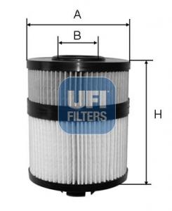 Filtre a huile UFI 25.108.00 (X1)