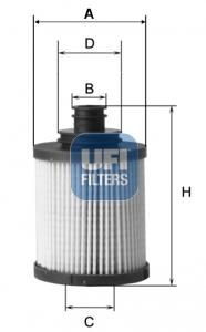 Filtre a huile UFI 25.149.00 (X1)