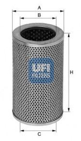 Filtre a huile UFI 25.408.00 (X1)