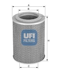 Filtre a huile UFI 25.455.00 (X1)