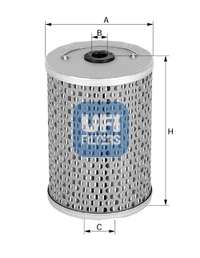Filtre a huile de circuit hydraulique UFI 25.461.00 (X1)