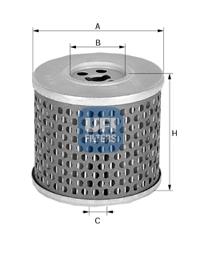 Filtre a huile UFI 25.500.00 (X1)