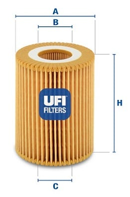 Filtre a huile UFI 25.027.00 (X1)