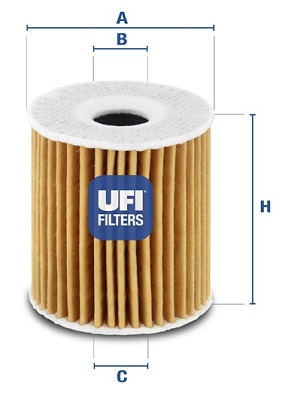 Filtre a huile UFI 25.035.00 (X1)