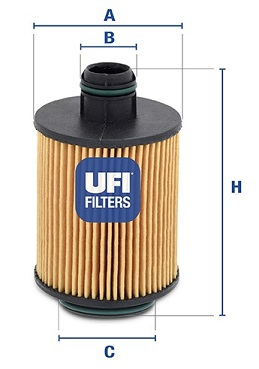 Filtre a huile UFI 25.061.00 (X1)