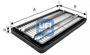 Autres filtres UFI 27.266.04 (X1)