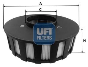 Autres filtres UFI 27.686.00 (X1)