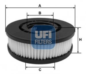 Autres filtres UFI 27.689.00 (X1)
