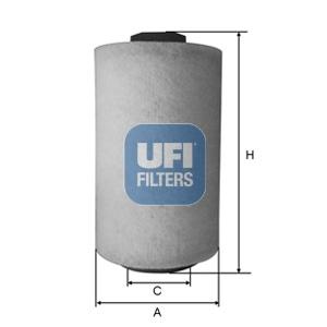 Filtre a air UFI 27.A53.00 (X1)
