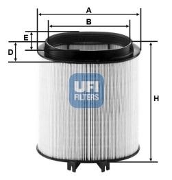Filtre a air UFI 27.A91.00 (X1)