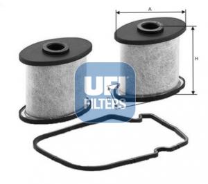 Autres filtres UFI 27.B11.00 (X1)