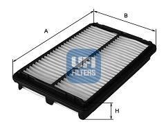 Filtre a air UFI 30.076.00 (X1)