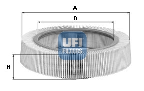 Filtre a air UFI 30.217.00 (X1)