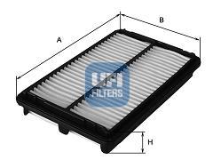 Filtre a air UFI 30.223.00 (X1)