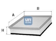 Filtre a air UFI 30.290.00 (X1)