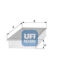 Filtre a air UFI 30.467.00 (X1)
