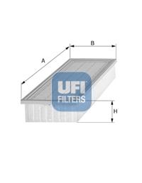 Filtre a air UFI 30.546.00 (X1)