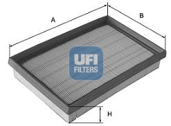 Filtre a air UFI 30.625.00 (X1)
