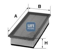 Filtre a air UFI 30.688.00 (X1)