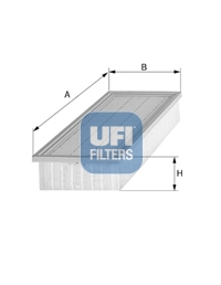 Filtre a air UFI 30.826.00 (X1)