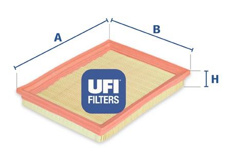 Filtre a air UFI 30.168.00 (X1)
