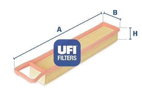 Filtre a air UFI 30.345.00 (X1)