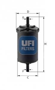 Filtre a carburant UFI 31.948.00 (X1)