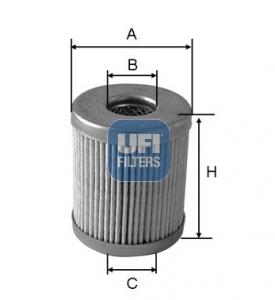 Filtre a carburant UFI 46.008.00 (X1)
