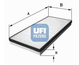 Filtre d'habitacle UFI 53.028.00 (X1)