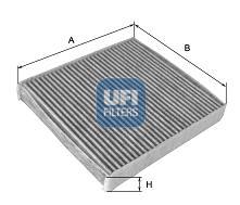Filtre d'habitacle UFI 54.266.00 (X1)