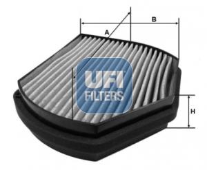 Filtre d'habitacle UFI 54.270.00 (X1)