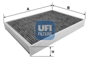 Filtre d'habitacle UFI 54.295.00 (X1)