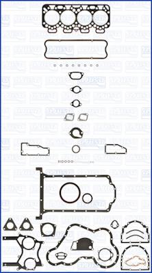 Joint d'etancheite moteur AJUSA 50039500 (X1)
